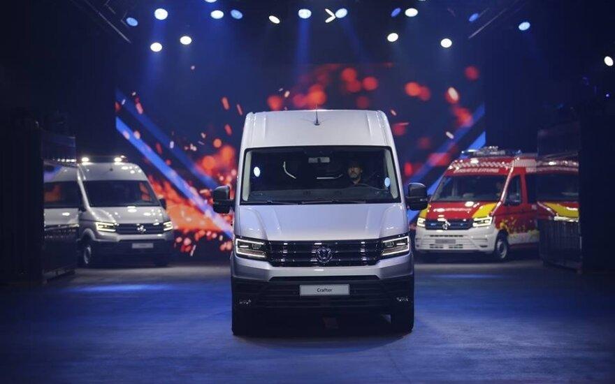 """Volkswagen Crafter"" pristatymas"