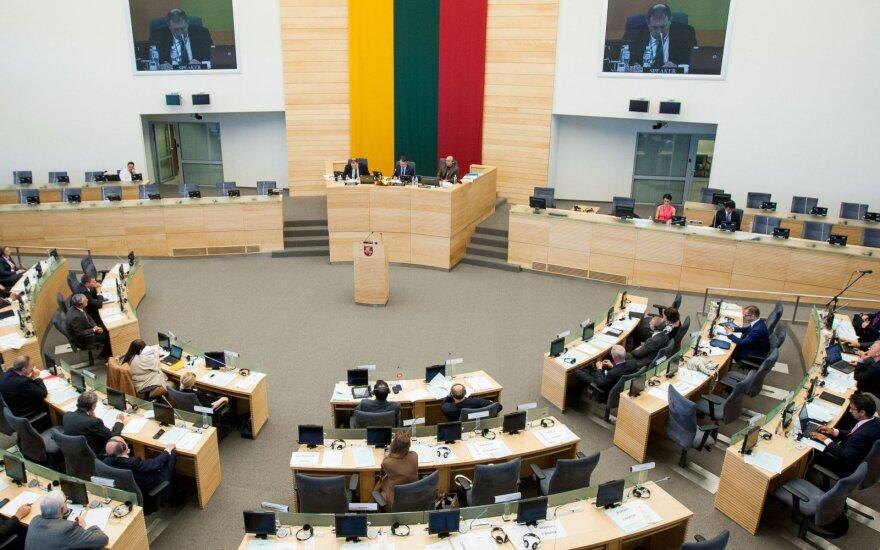 Seimo komitetas svarstys ekonomikos gelbėjimo planą