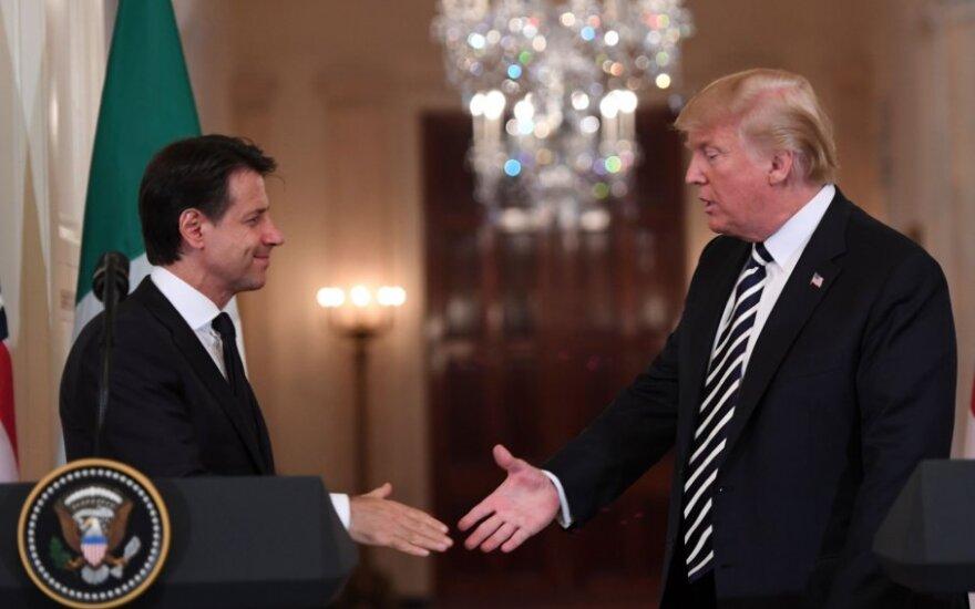 G. Conte ir D. Trumpo susitikimas