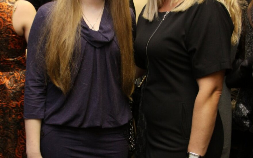 Jolanta Paulauskienė su dukra Aiste