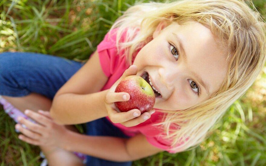 10 priežasčių suvalgyti po obuolį kasdien