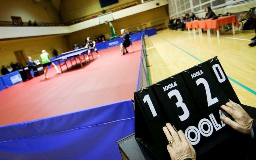 A. Domeika su T. Mikučiu baigė pasirodymą Europos stalo teniso čempionate