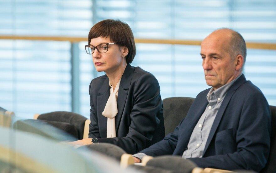 Monika Garbačiauskaitė Budrienė, Liudvikas Gadeikis
