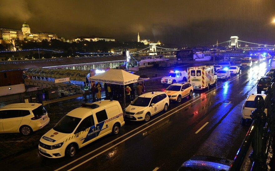 Vengrų policija sulaikė Budapešte į kitą laivą įsirėžusio laivo kapitoną