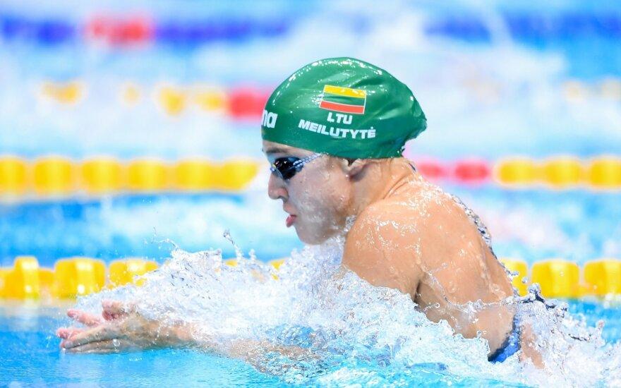 Meilutytė sezoną Brazilijoje pradėjo nuo aukso medalio