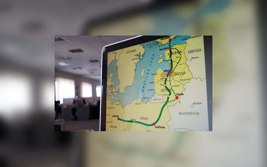 """Ministras: finansavimas """"Rail Baltica"""" atšakai Vilnius–Kaunas – pažadėtas"""