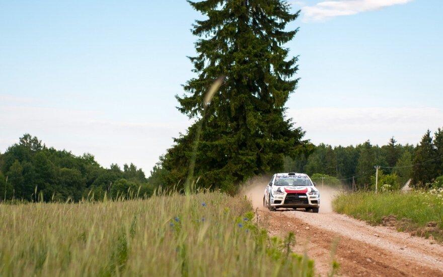 """""""Viada Rally Žemaitija"""" greičio ruožus teko koreguoti"""
