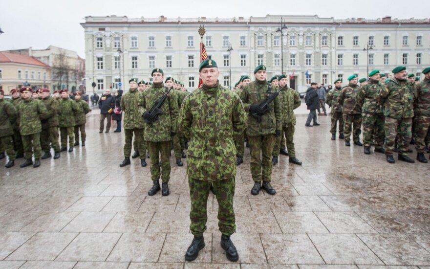 Dėl nacizmo naštos vokiečiai atsargiai vertina karių siuntimą į Lietuvą