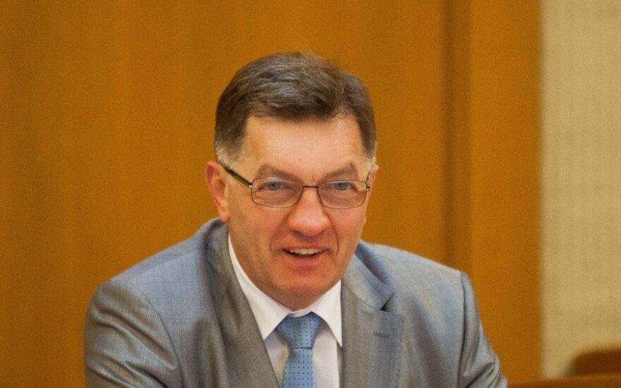 Interviu užsienio spaudai A. Butkevičius prakalbo apie menką lietuvių susidomėjimą pirmininkavimu ES Tarybai