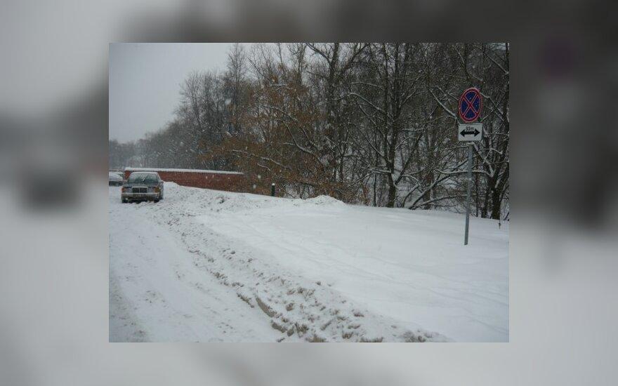 Vilniuje, T.Kosciuškos g. 1A. 2010-02-18, 17.10 val.