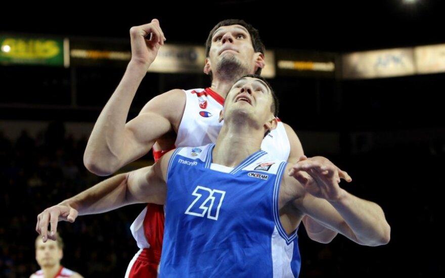 """""""Neptūną"""" skriaudęs serbų milžinas – naudingiausias Eurolygos savaitės žaidėjas"""