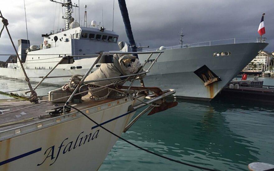 Prancūzų karo laivas