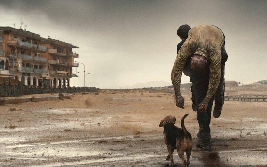 "Filmo ""Dogman"" kadras"