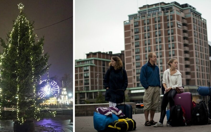 Vienos Europos sostinės eglė nustebino lietuvę: ar atspėsite, kur ji stovi?