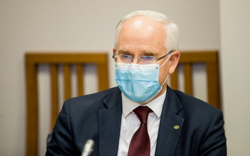 Monkevičius sako pasiūlęs ministerijos kancleriui Daukantui vadovauti naujai įkurtam departamentui