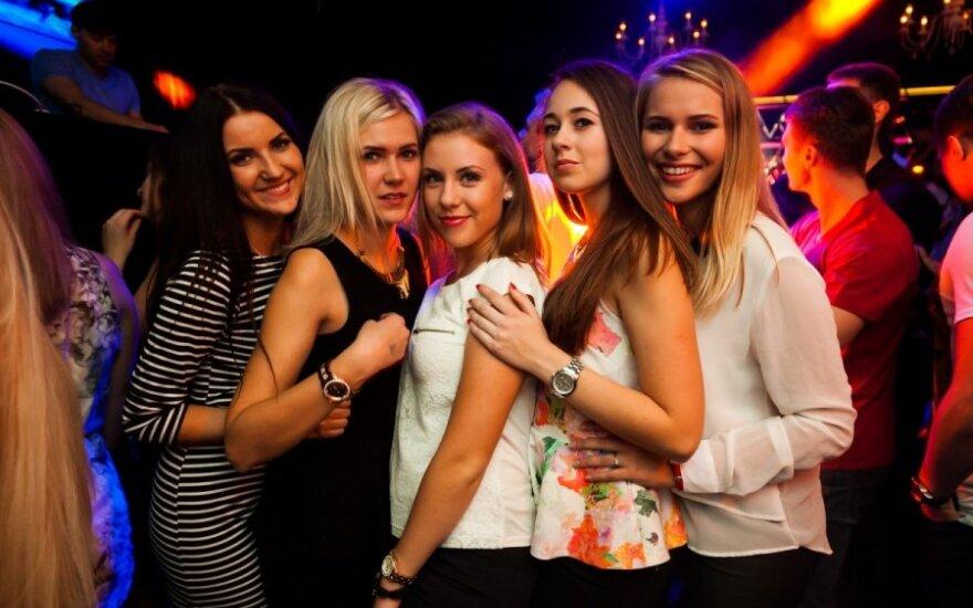 Vakarėlis Exit klube