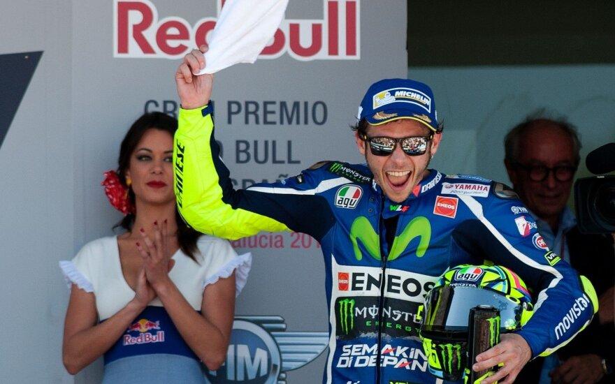 Valentino Rossi nugalėjo Jereze
