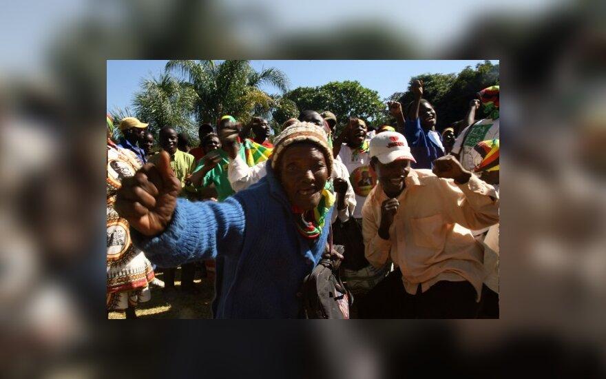 TVF nedavė pinigų Zimbabvei