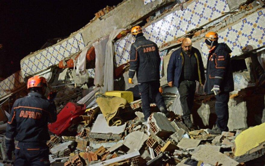 Žemės drebėjimas rytų Turkijoje