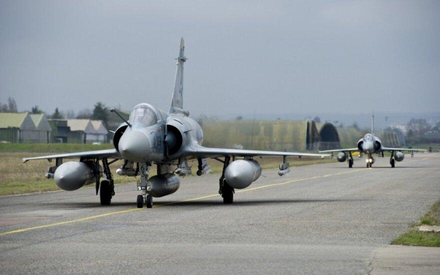 Prancūzijoje dingo oro pajėgų naikintuvas
