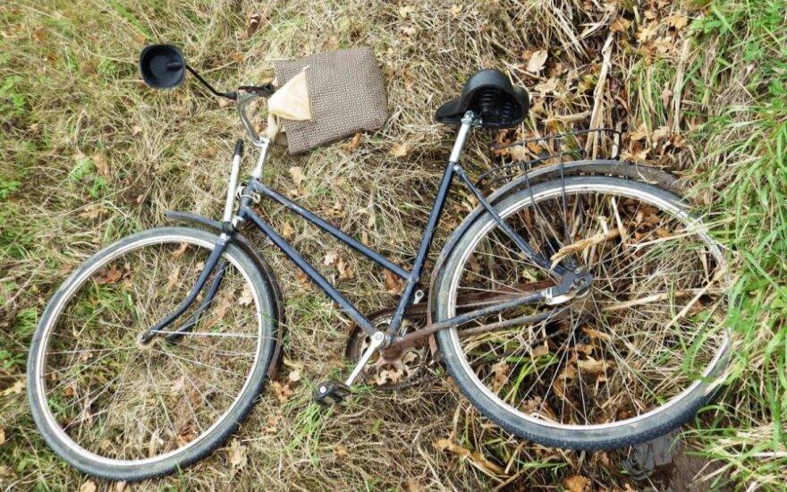 Policija prašo žmonių pagalbos: kelyje Telšiai-Varniai-Laukuva žuvo dviratininkas