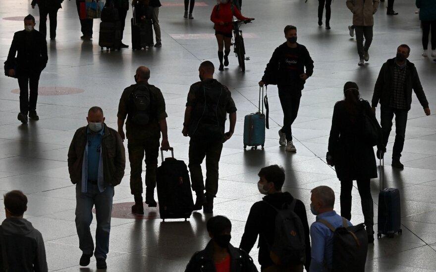 Europoje penktą mėnesį iš eilės didėja nedarbas