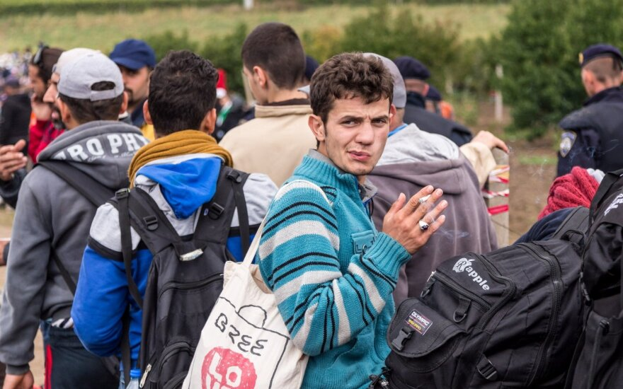 Dėl naujos dovanos pabėgėliams – šokas