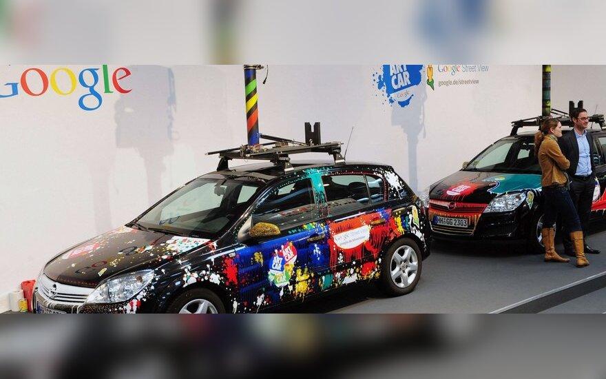 Google Street View automobilis