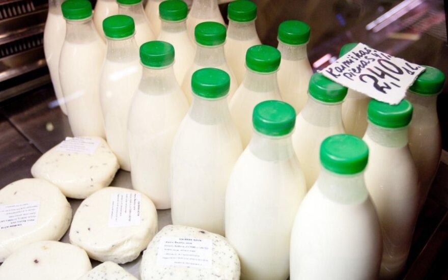 Išmokos pieno ūkiams – nuo spalio vidurio