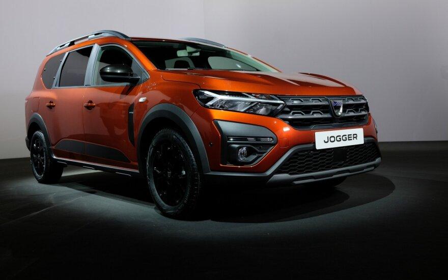 """Pirma """"Dacia Jogger"""" apžvalga: geresnis nei buvo galima tikėtis"""