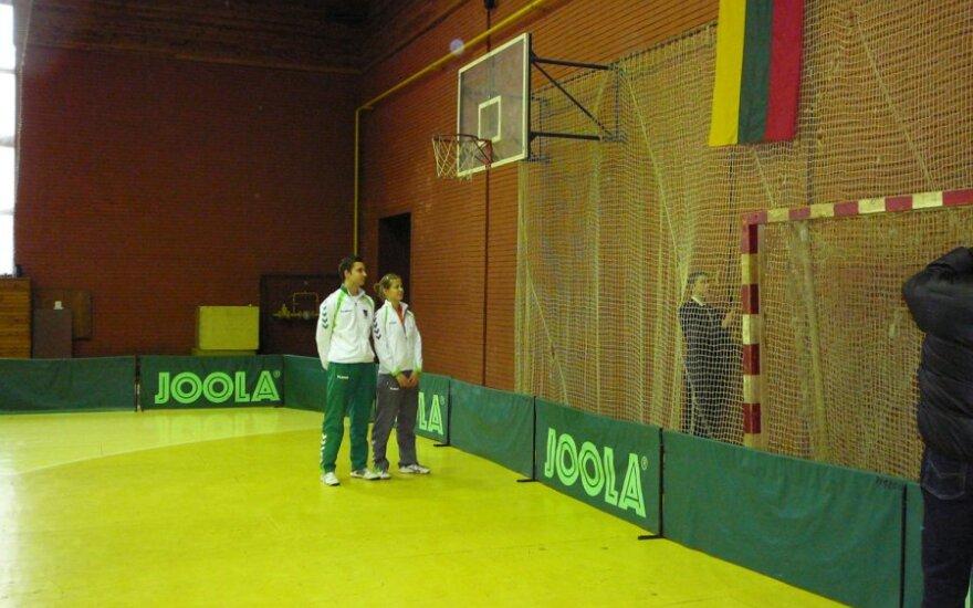 Lietuvos stalo teniso 82-o čempionato atidarymas