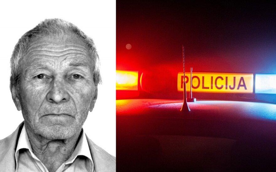 Vilniaus policija prašo visuomenės pagalbos: dingo sergantis vyriškis