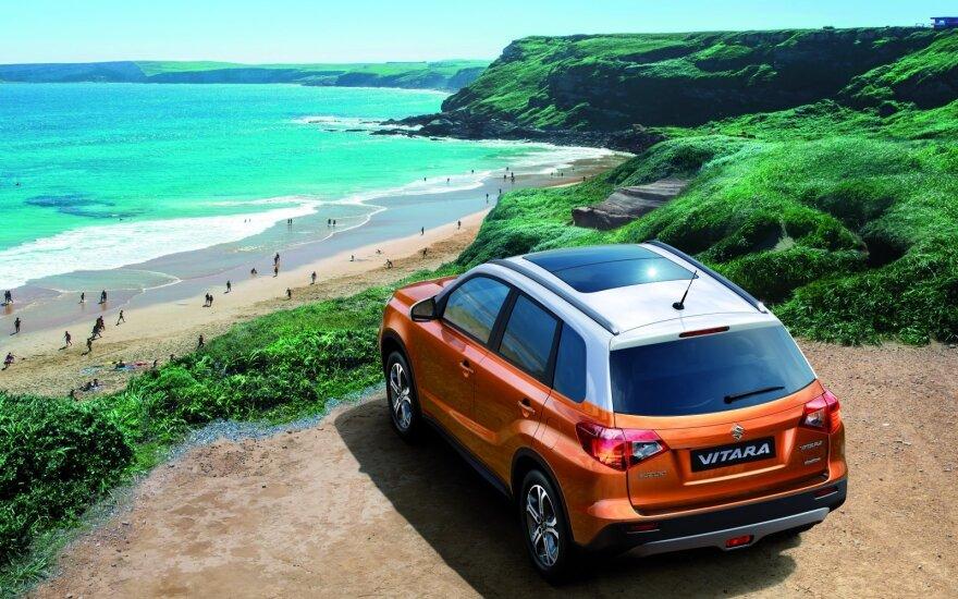 """Skiriasi """"Suzuki"""" ir """"Volkswagen"""" keliai"""