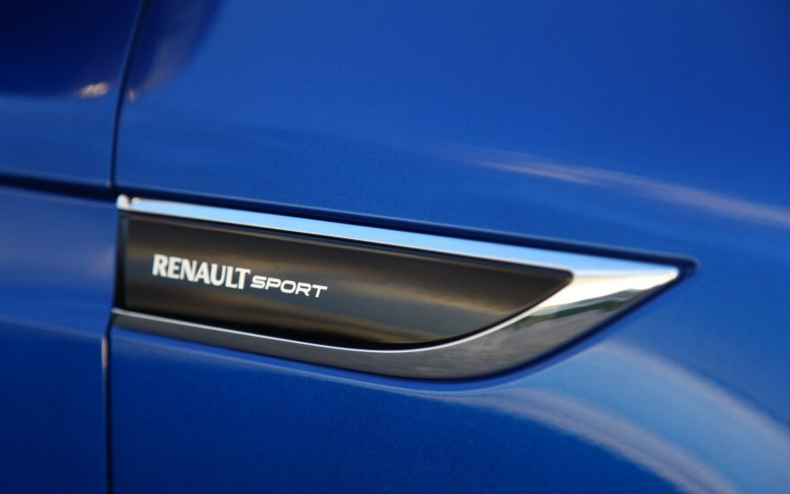 """""""Renault"""" atskleidė sporto padalinių strategiją"""