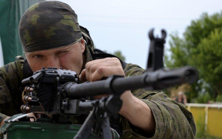 Ukrainos kariai atrėmė separatistų ataką Luhanskо oro uoste