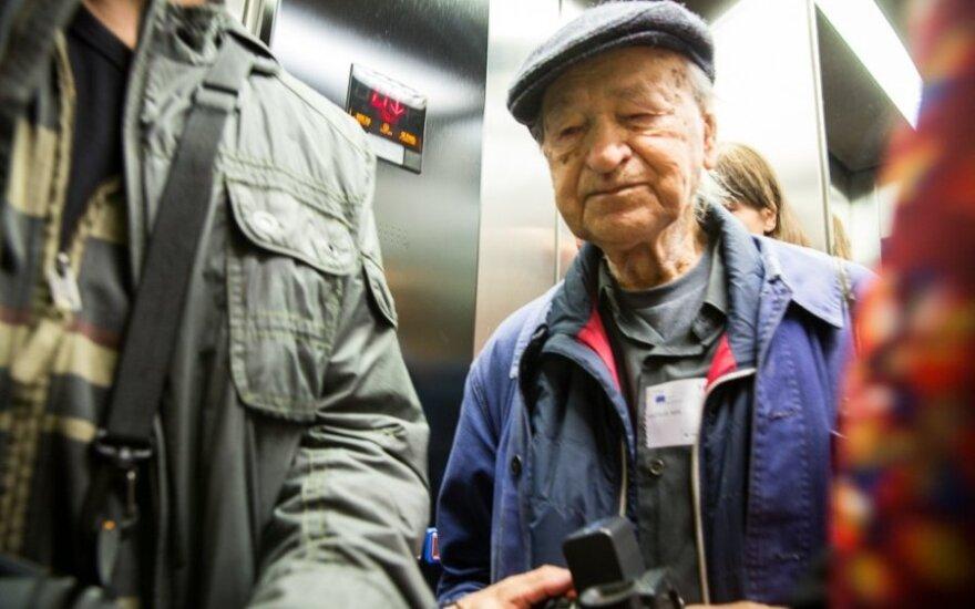 J. Meko ekskursija po Europos Parlamentą / Mindaugo Mikulėno nuotr.