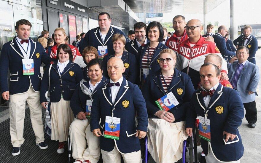 Pašalinta iš Rio parolimpiados Rusija pradėjo alternatyvias žaidynes