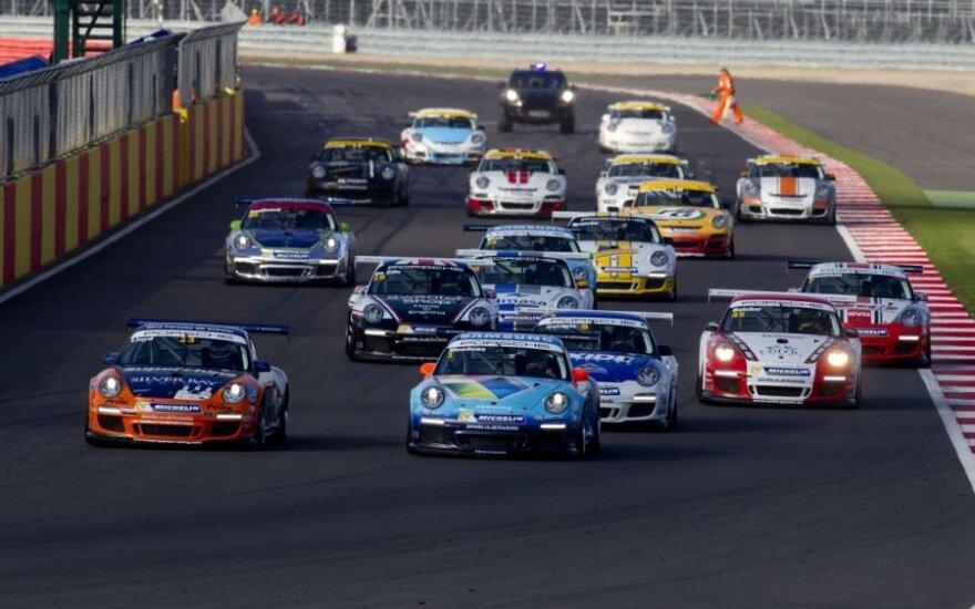 """""""Porsche Carrera"""" lenktynės"""