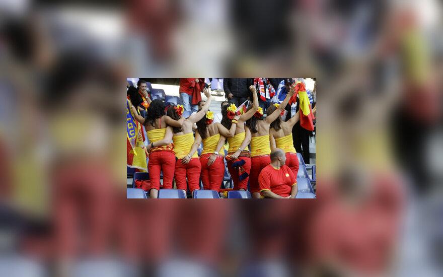 Ispanijos futbolo gerbėjos