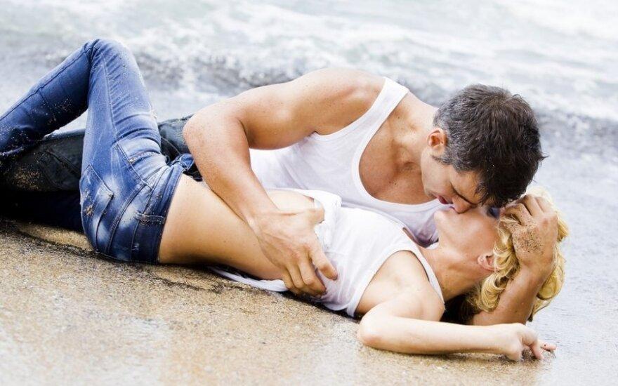 pora pliaže, meilė