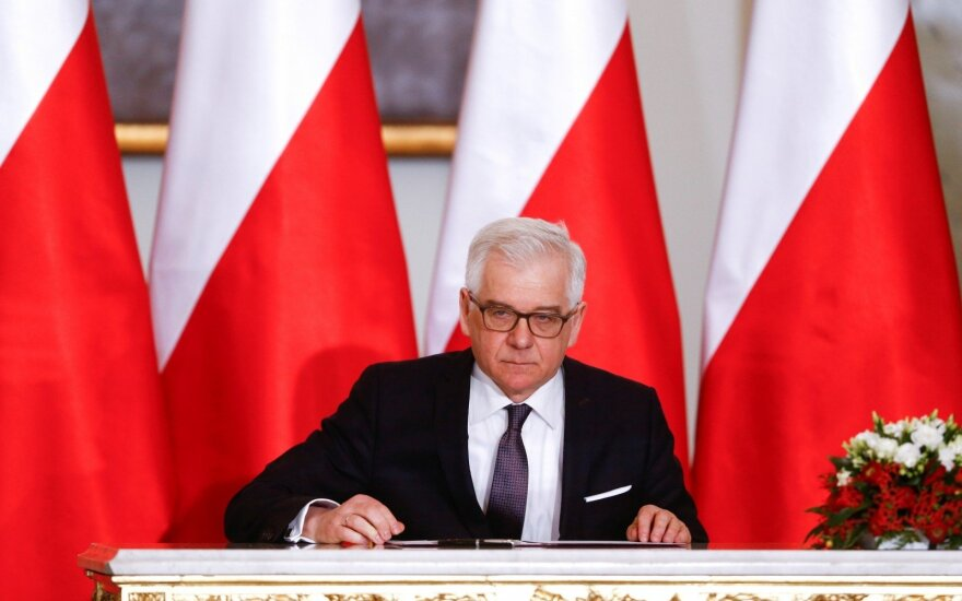 """Lenkijos URM: nuolat prieštaraujame """"Nord Stream 2"""", o """"Baltic Pipe"""" užtikrins energetinę nepriklausomybę"""
