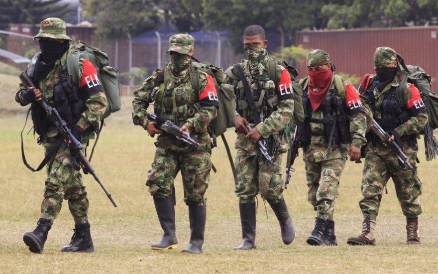 Nacionalinio išsivadavimo armijos (ELN) partizanai