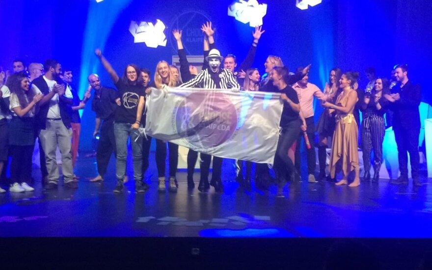 Klaipėda tapo Europos jaunimo sostine 2021
