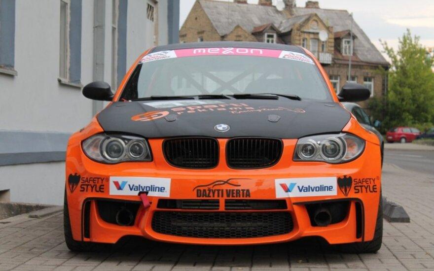 Sparti Reklama racing team komandos dyzelinis BMW