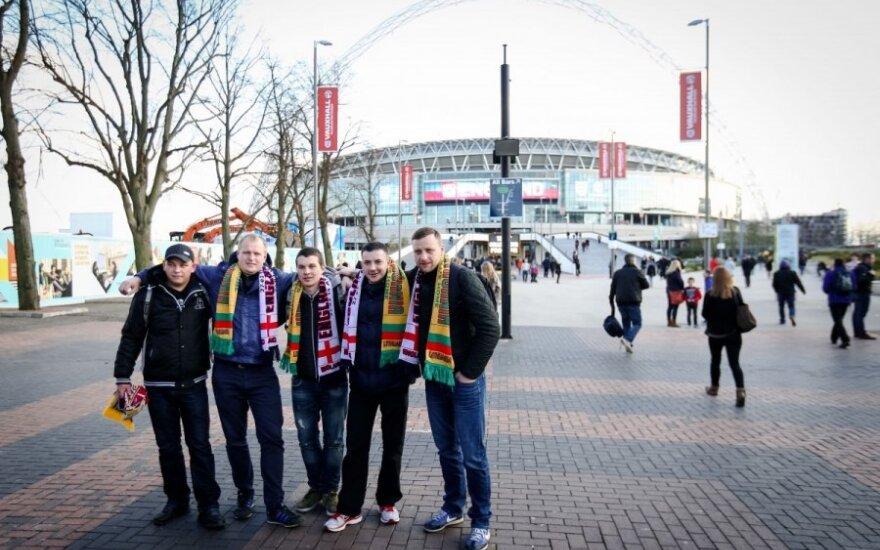 """Sirgaliai renkasi į """"Wembley"""" stadioną"""