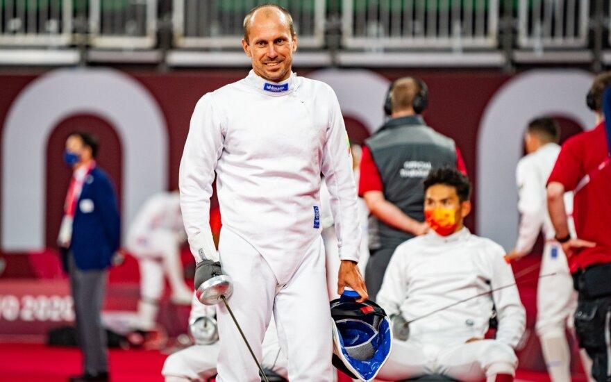 Tokijo olimpinės žaidynės, Justinas Kinderis