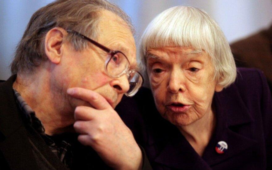 Sergejus Kovaliovas ir Liudmila Aleksejeva