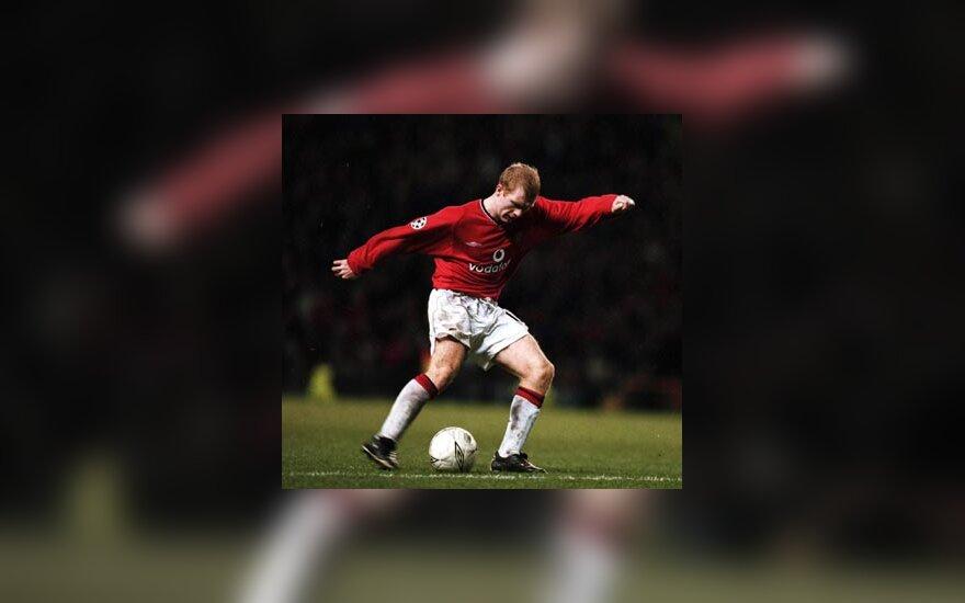 "Paul Scholes, ""Manchester United"""