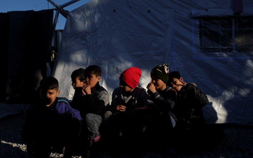 Europos Komisija: ES įveikė migracijos krizę