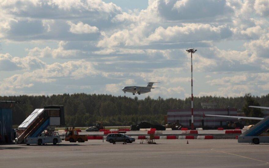 Pulkovo oro uostas Sankt Peterburge